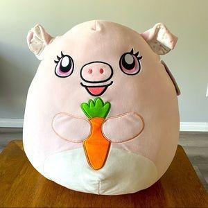 "Squishmallows Hettie the Pig 20"""